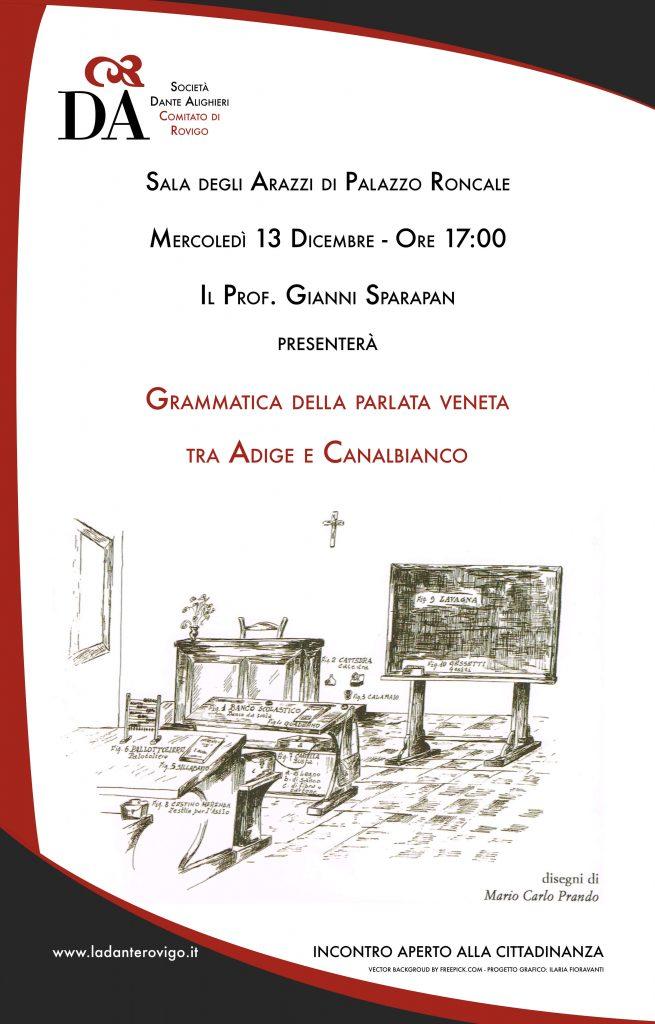 la dante_grammatica veneta_locandina