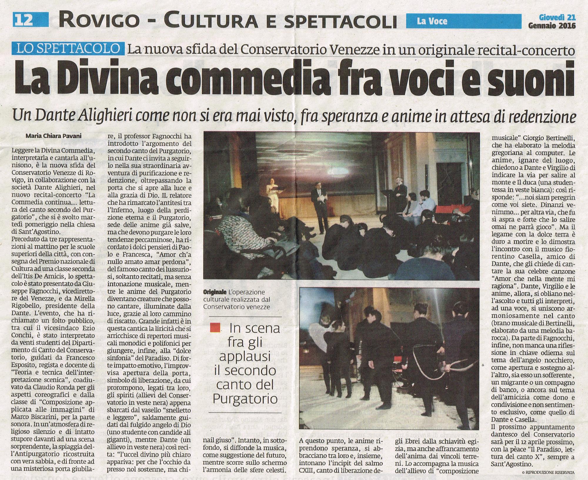 divina commedia_la voce_rovigo