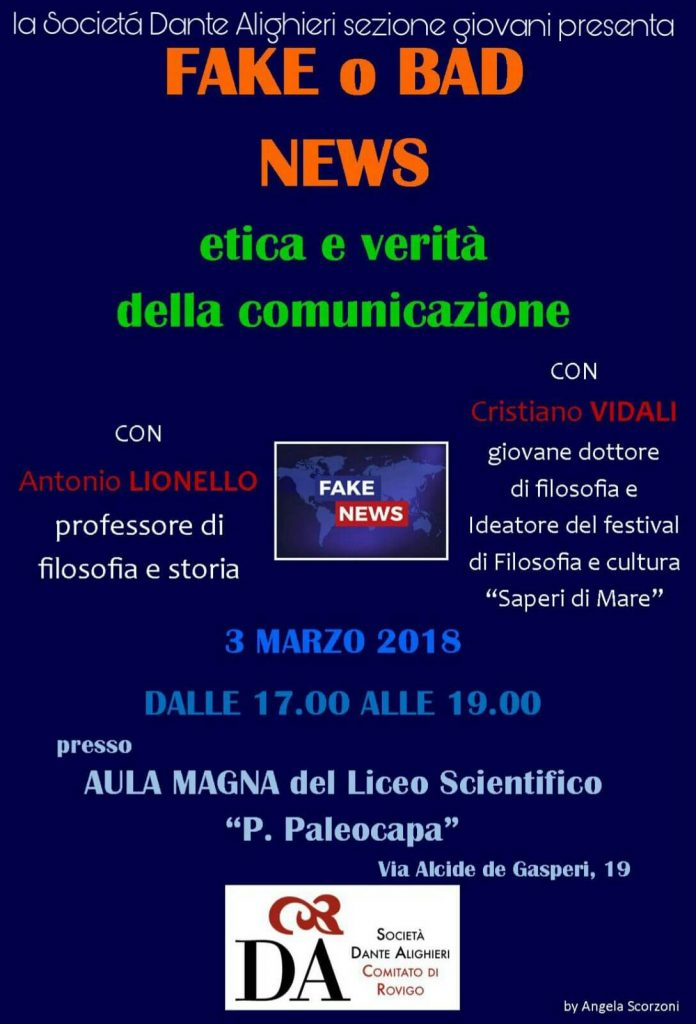 Locandina Gruppo Giovani evento 3 marzo